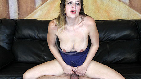 Ashden Sits on a Cock and Rides It Deep